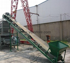 Belt conveyor, climbing