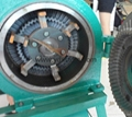 Feed mixing crusher/tooth disc grinder