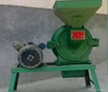 grain and grain flour mill, toothed pulverizer