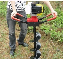 tree-planting and eyelet digging machine/gasoline digging machine