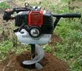 roadside pile excavation machine/grape