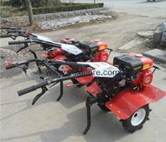 Soil microplowing machine