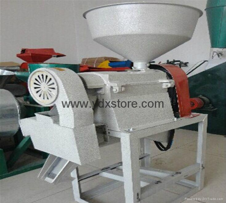 Domestic rice milling machine, grinding mill powder, feed mill, three combinatio 2