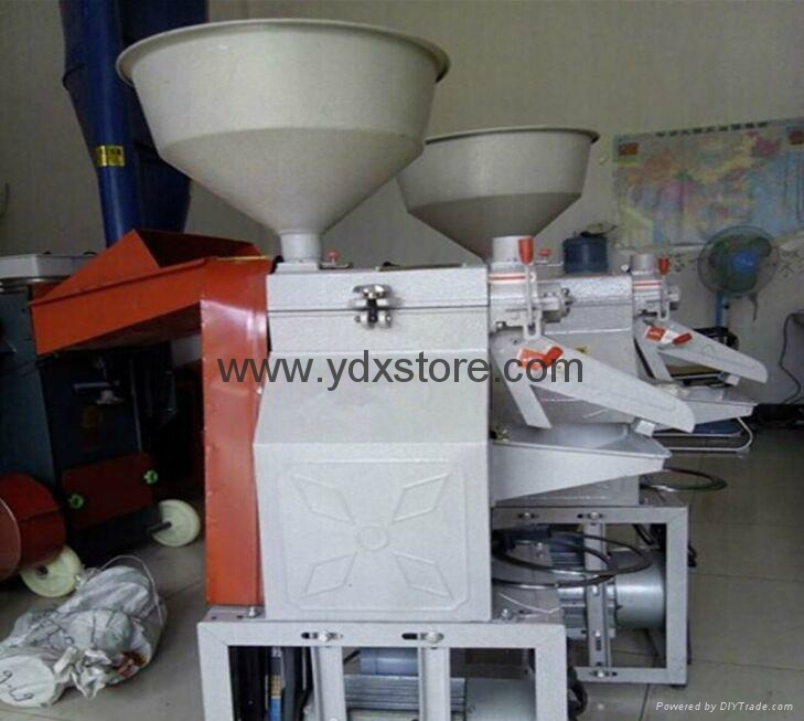 Domestic rice milling machine, grinding mill powder, feed mill, three combinatio 4