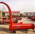 Corn straw pulverized harvester, rice straw harvester, straw recycling machine