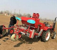 Seeding and fertilizatio
