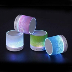 Wireless Smart Hands Free LED Light Mini Bluetooth Speaker