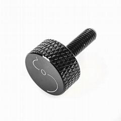 aluminium M6 thumb screw with laser