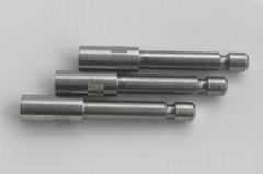 Stainless steel knurled bearing screw