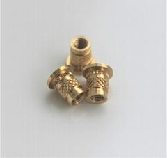 coppy brass knurling nuts