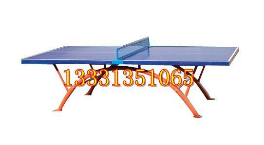 晉城戶外乒乓球台價格彩虹腿設計 1