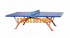 晋城户外乒乓球台价格彩虹腿设计