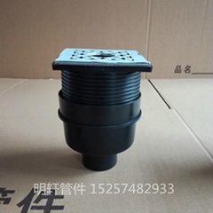 same floor HDPE Siphonic drainage fittings floor drain