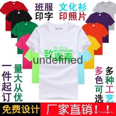 昆明T恤衫纯棉布料 1
