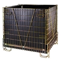 Hot Sale Folding Wire Mesh Container for PET Preform Storage 3