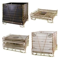 Hot Sale Folding Wire Mesh Container for PET Preform Storage 4