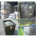Hot Sale Folding Wire Mesh Container for PET Preform Storage 5