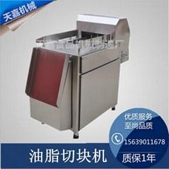高效凍肉切塊機不鏽鋼材質