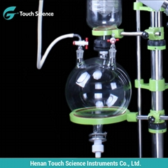 Distilation Labware Glass Vacuum Evaporator