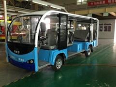 太陽能電池電瓶電動觀光車