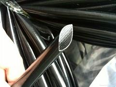 7KV矽胶纤维高温套管