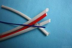 矽膠外纖維編織管