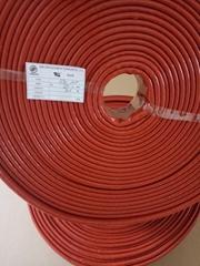 耐高溫有機硅膠纖維軟管