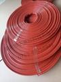耐高温硅胶玻纤纤维防火防烫管HYX-1000