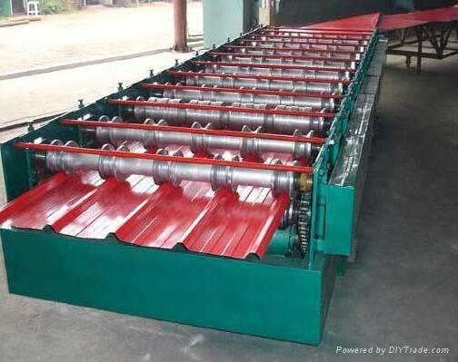 860全自動壓瓦機彩鋼瓦設備 2