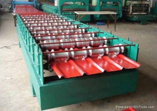 860全自動壓瓦機彩鋼瓦設備 3
