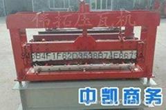 鑫偉拓910牆面板彩鋼壓瓦機