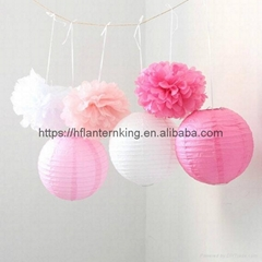 2017 New Wedding Decor Lantern Home Party Decoration Fashion 12''(30cm) Round Ch