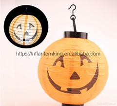 New 2017 (5pcs/Lot) 8''(20cm) Round Chinese  LED Lantern White Paper  LED Lanter