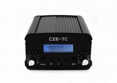 CZE-7C 7W FM Stereo Tube Audio Car Styling FM RF