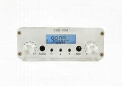 传洲电子 CZE-15A 立体声音质调频广播fm无线发射机