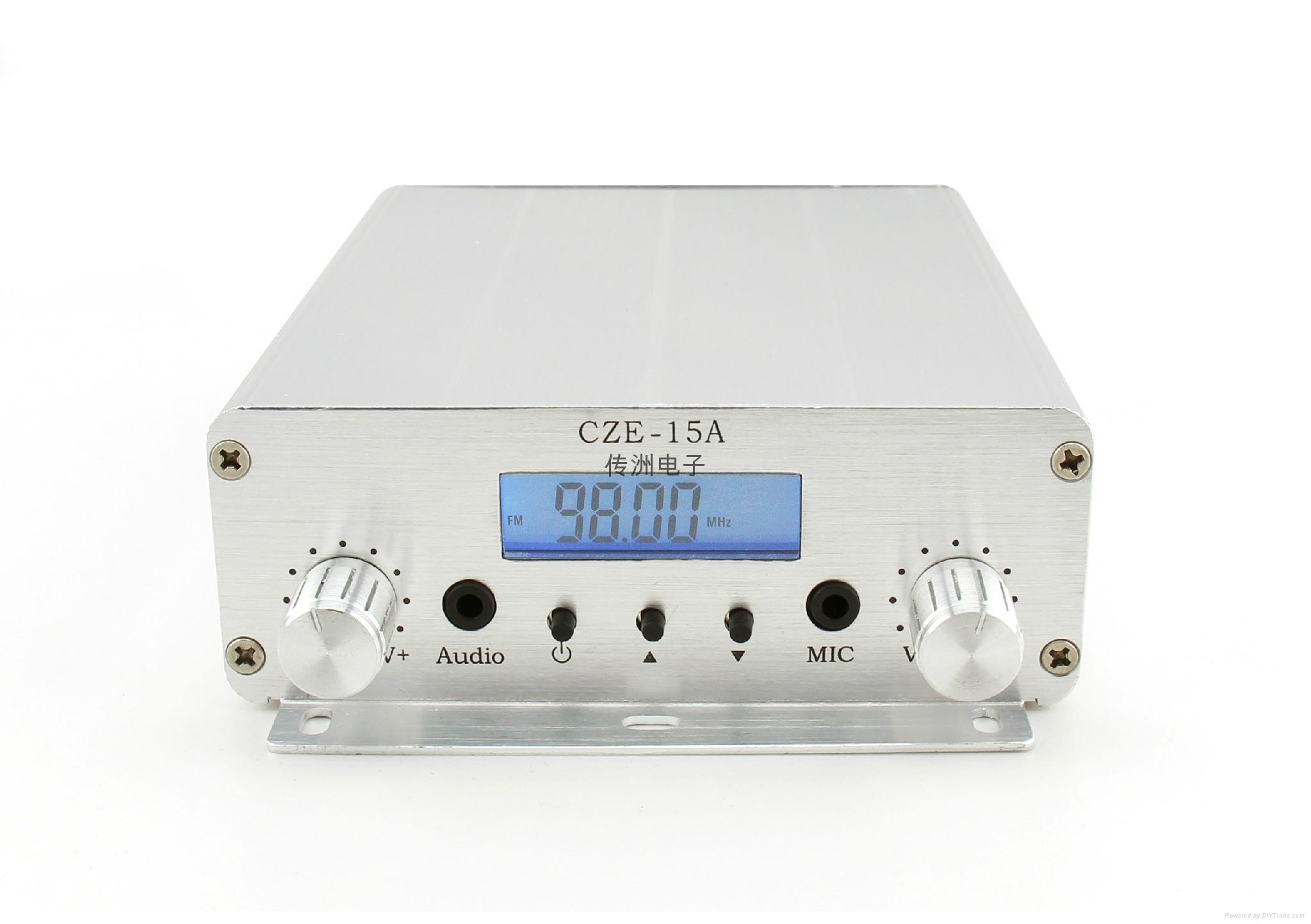 CZE-15A 15W Diy Power Amplifier Kit FM Transmitter 3