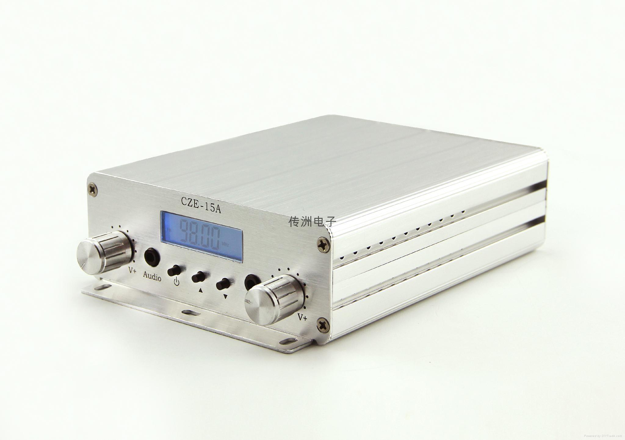 CZE-15A 15W Diy Power Amplifier Kit FM Transmitter 5