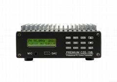 PC Control CZE-15B 15W Professional Car Stereo Amplifier FM Transmitter