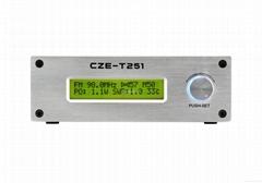 传洲电子 CZE-T251 25W 高音质无线调频立体声发射机