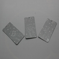 Hot Stamping Gold/Silver Business Card Embossed Foil Card with Low Price 2