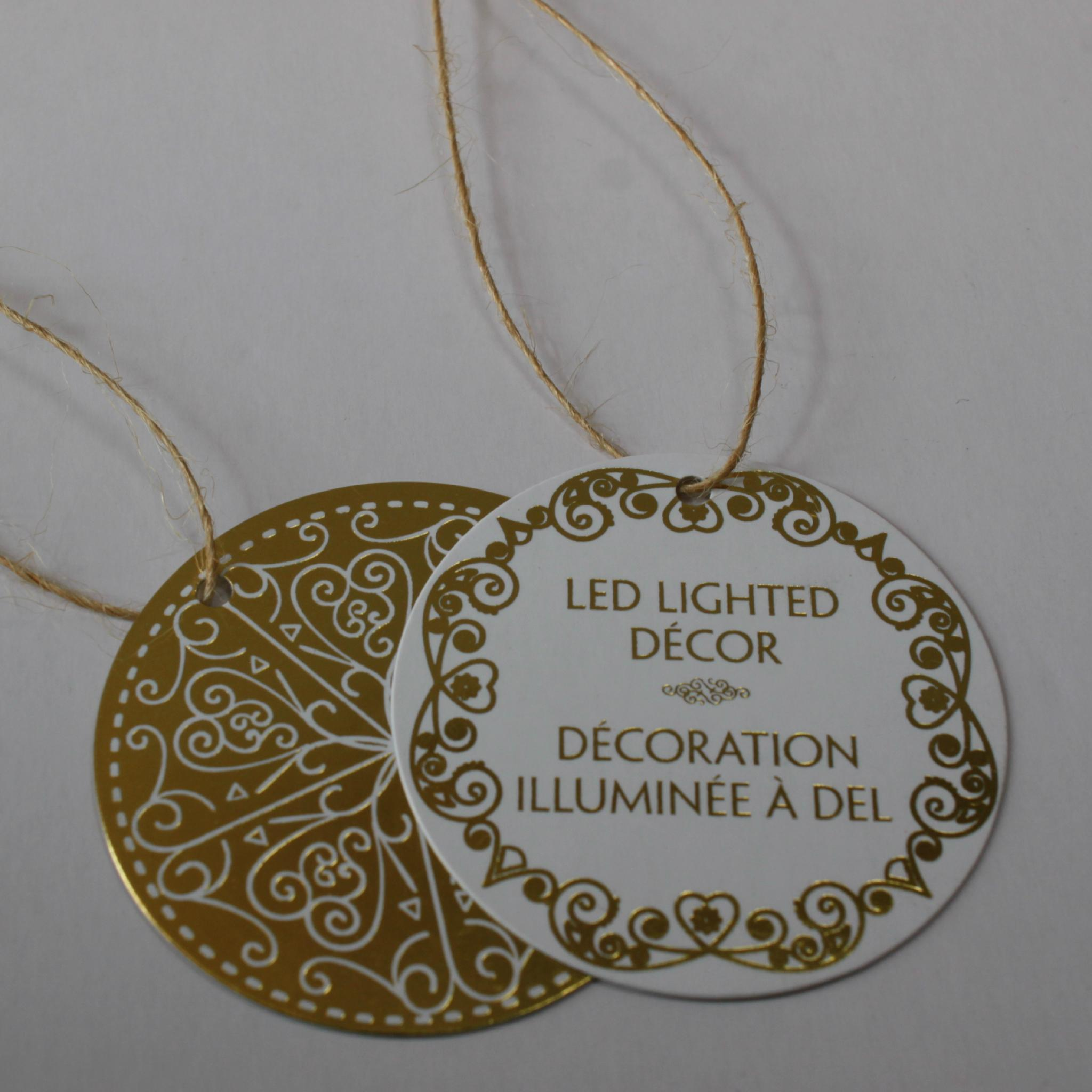 hot stamping gold silver business card embossed foil card with low