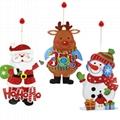 聖誕老人 紙吊飾 2