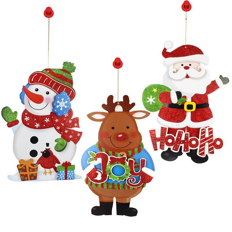 聖誕老人 紙吊飾 5