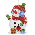 聖誕老人 紙吊飾 3