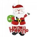 聖誕老人 紙吊飾 4