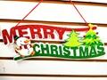 字母 聖誕字母吊飾 3