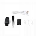 Two Way Radio Bluetooth Headset