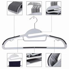 non slip  plastic hanger manuafacturer