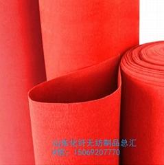 大红色婚庆毯一次性加厚婚礼舞台展览庆典地毯