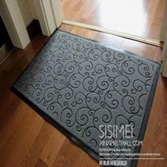 地毯生产厂家优惠促销出口地毯门垫PVC门垫